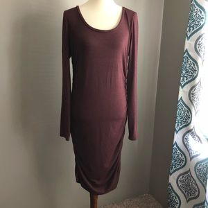 Leith dress with ruched side detail SZ XL